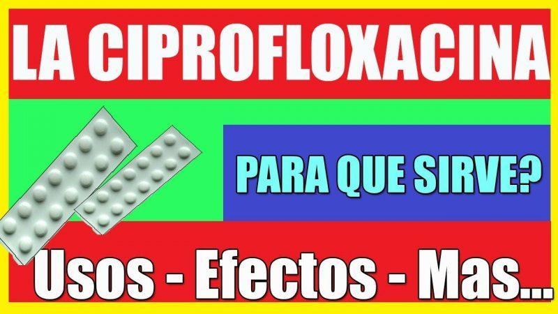 ᐈ BACPROIN (Ciprofloxacino) Para que sirve? Dosis, Usos (2019)