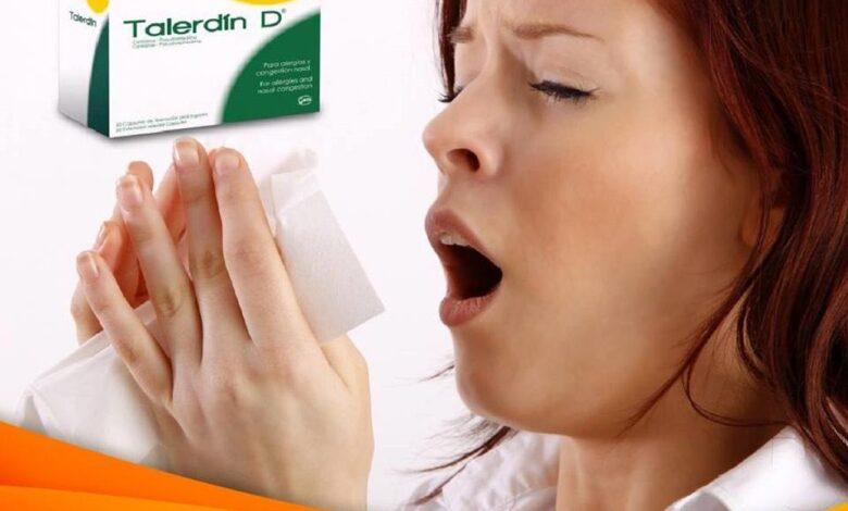 Talerdin-d Medicamento - ¿Para qué sirve?