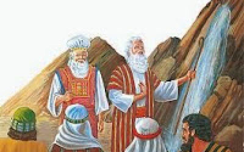 LOS ISRAELITAS SE ENOJAN CONTRA MOISÉS Y AARÓN (Devocional No. 073)