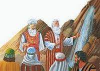 LOS ISRAELITAS SE ENOJAN CONTRA MOISÉS Y AARÓN