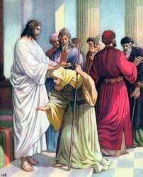 JESÚS LIBERA A UNA MUJER ENCORVADA