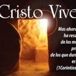 ¡Cristo Vive! ¡Feliz Domingo de Resurrección!