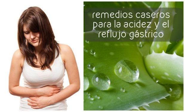Remedios Caseros para la GASTRITIS y el REFLUJO