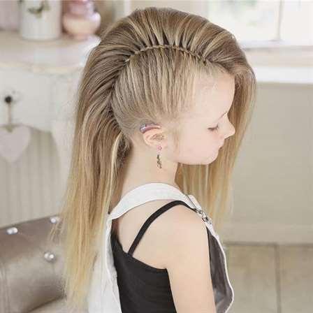 The Half-Cut Mohawk-Girl Style