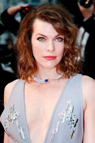 Milla Jovovich Curly Bobwidth=