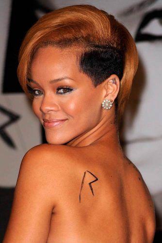 Rihanna Long Pixie With Undercutwidth=