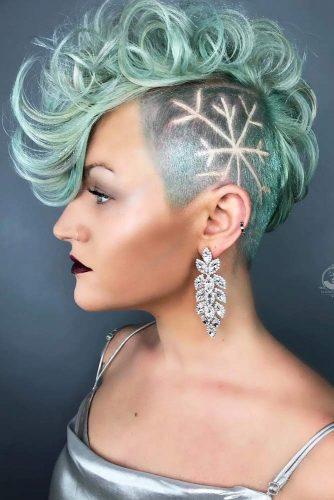 Taper Curly Haircut With Undercut Designwidth=