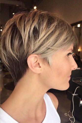 Peinados en capas #cortes de pelo cortos #cortes de pelo cortos #peinados cortos #cortes de pelo cortos #pixiehaircuts #pelo de pelo largo #cabello en capas
