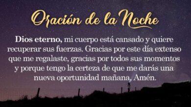Photo of 10 ORACIONES DE LA NOCHE PARA DORMIR EN PAZ Y TRANQUILO